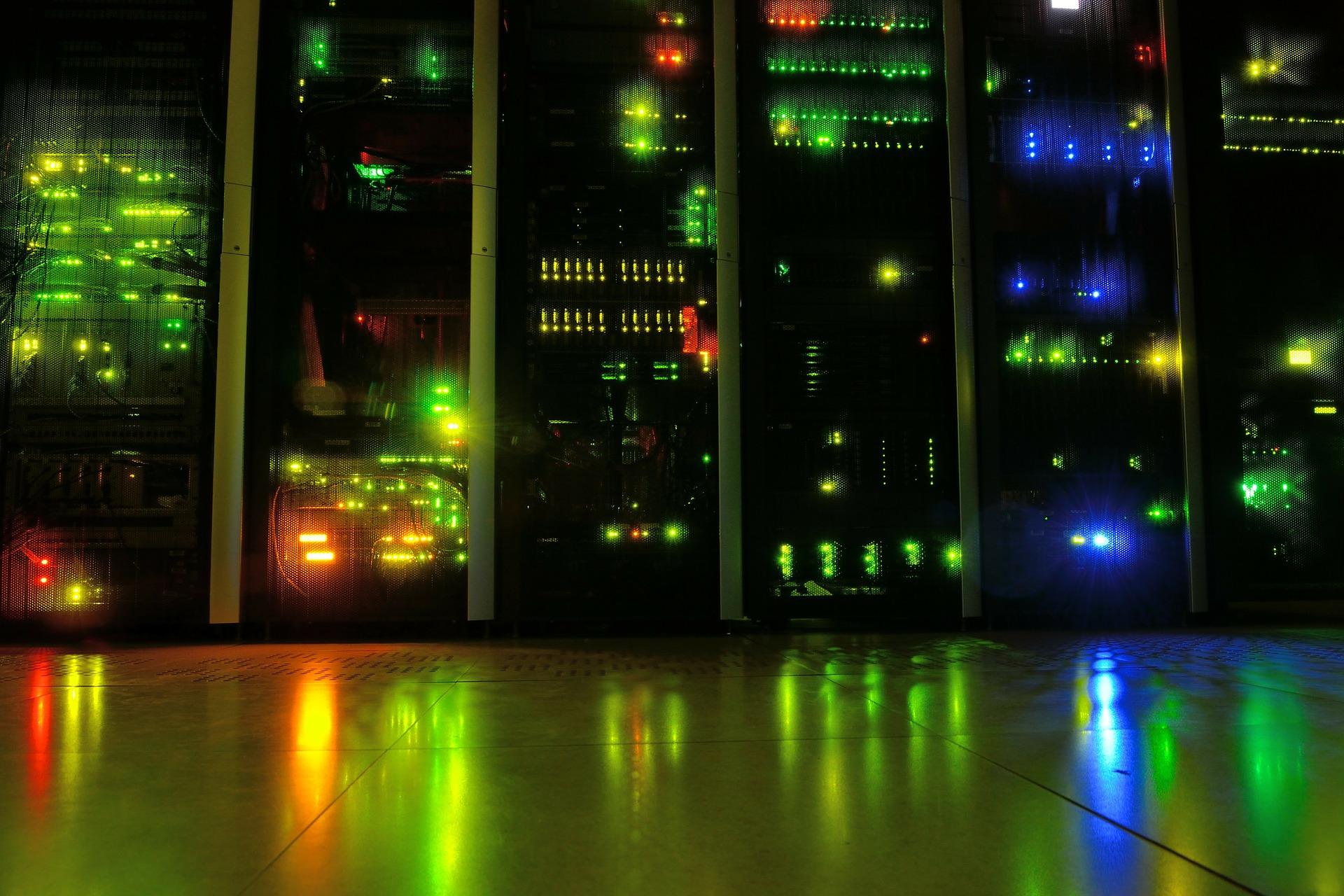 Server room representation